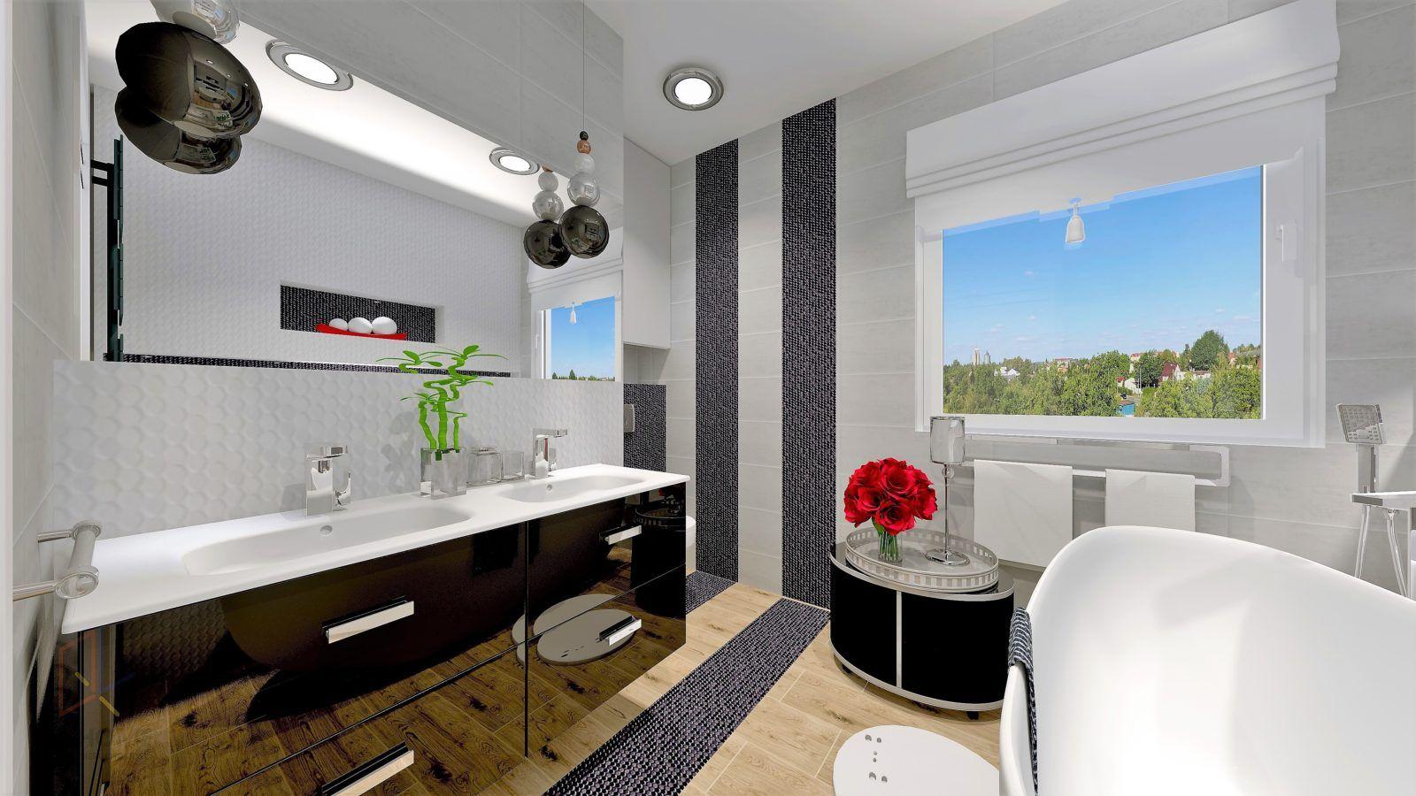 łazienka Z Wanną Wolnostojącą Domowe Spa Aranżacja Wnętrz