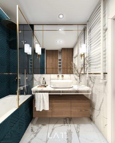 inspiracje łazienek w bloku