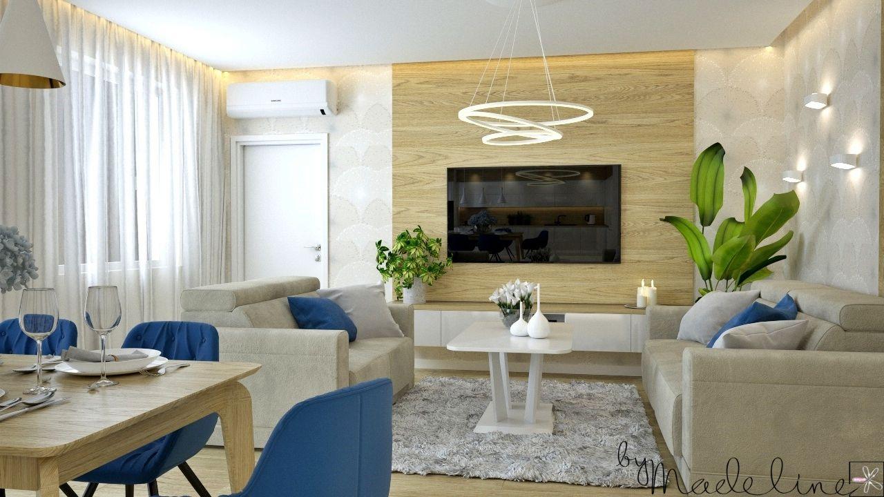Projekt wnętrza mieszkania dla rodziny