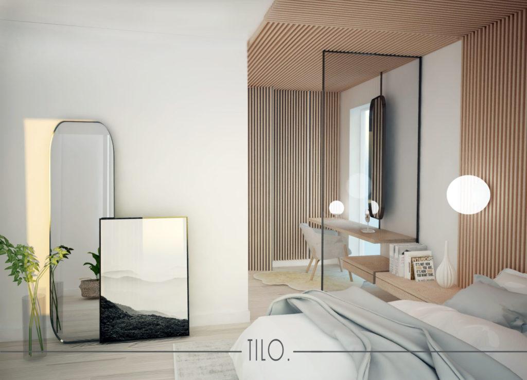 Projekt jasnej sypialni
