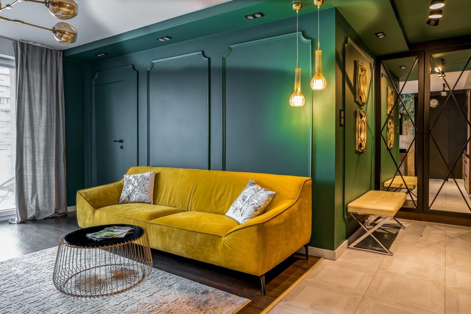 Kolorowe mieszkanie dla pary
