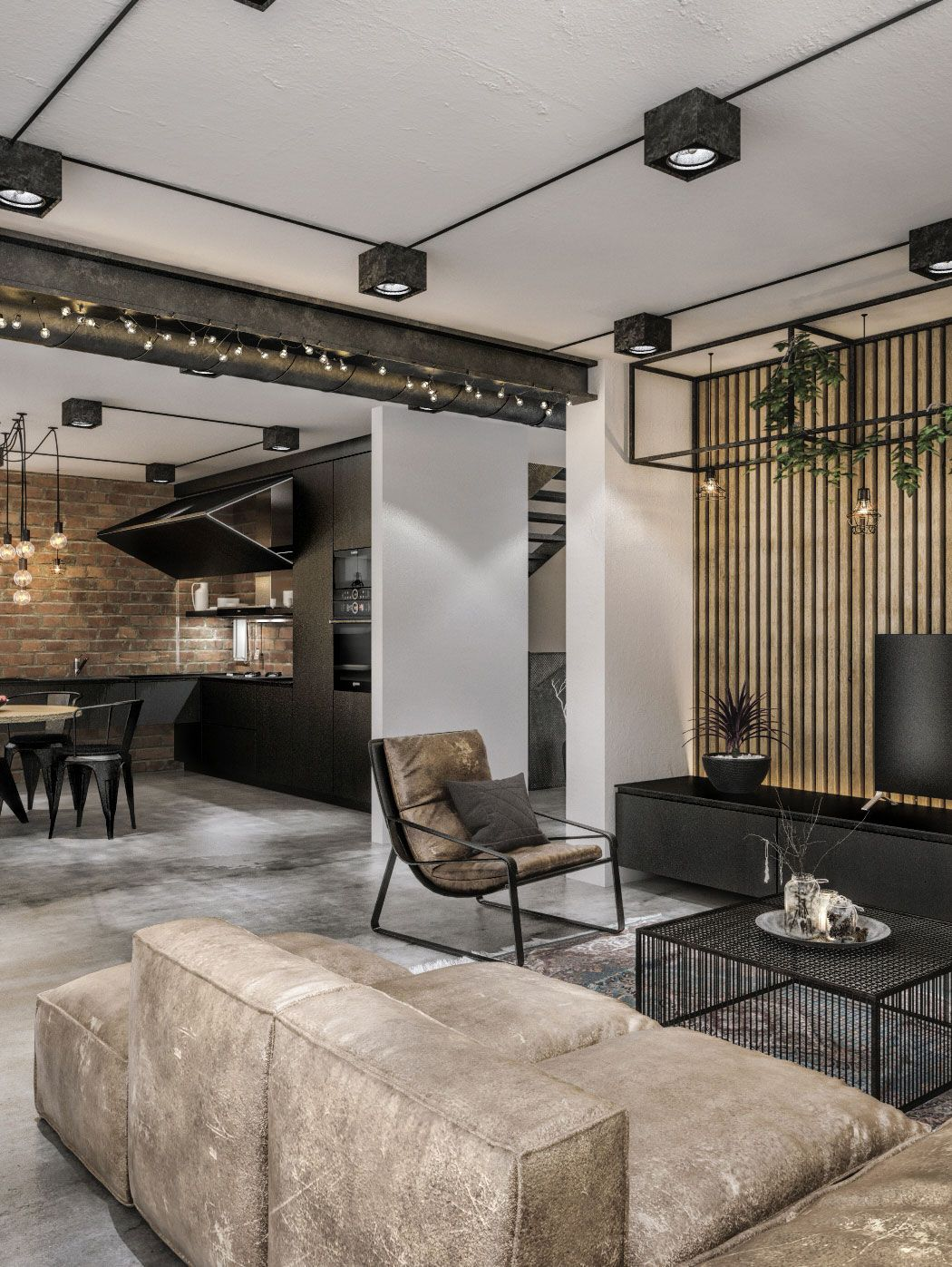 Styl loftowy we wnętrzach - czym się charakteryzuje