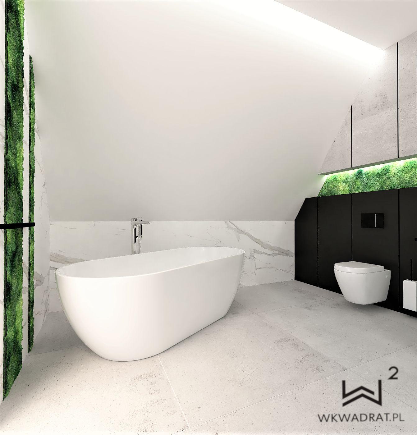 łazienka Z Mchem Aranżacja Wnętrz Portal Wnętrzarski