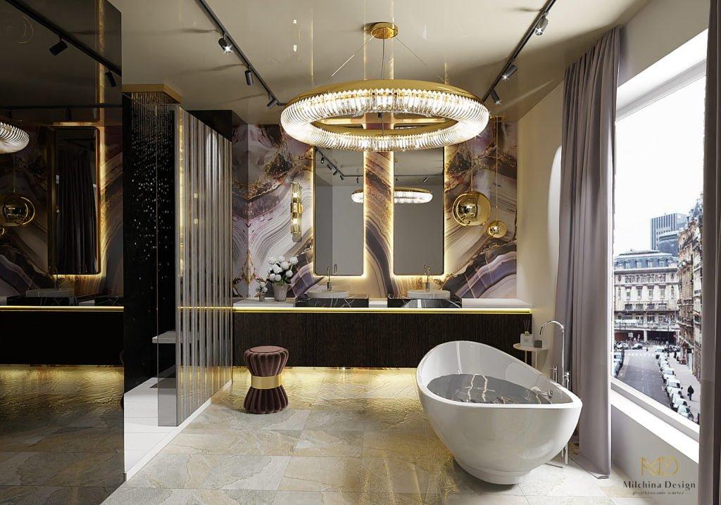 Ekskluzywny salon kąpielowy