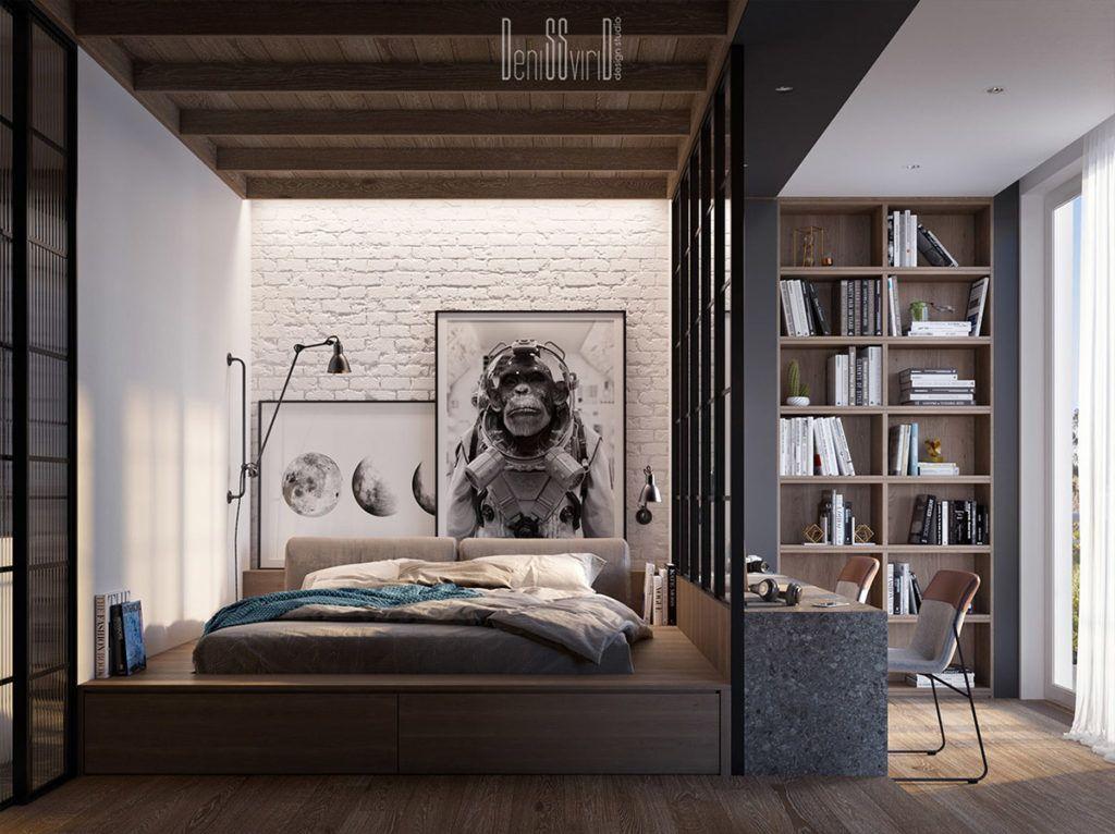 Projekt wnętrz niewielkiego funkcjonalnego mieszkania