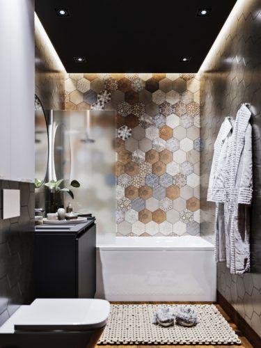 pomysł na łazienkę w bloku