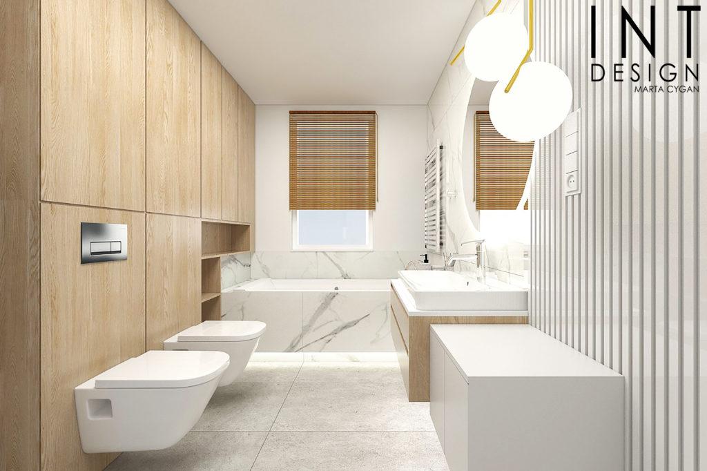 Inspiracje białych łazienek