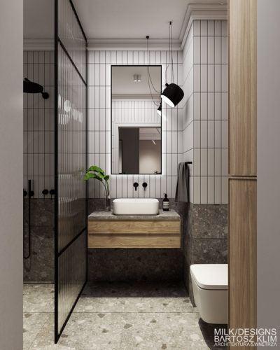 projekt wnętrza luksusowego apartamentu mieszkania architekt wnętrz łódź warszawa